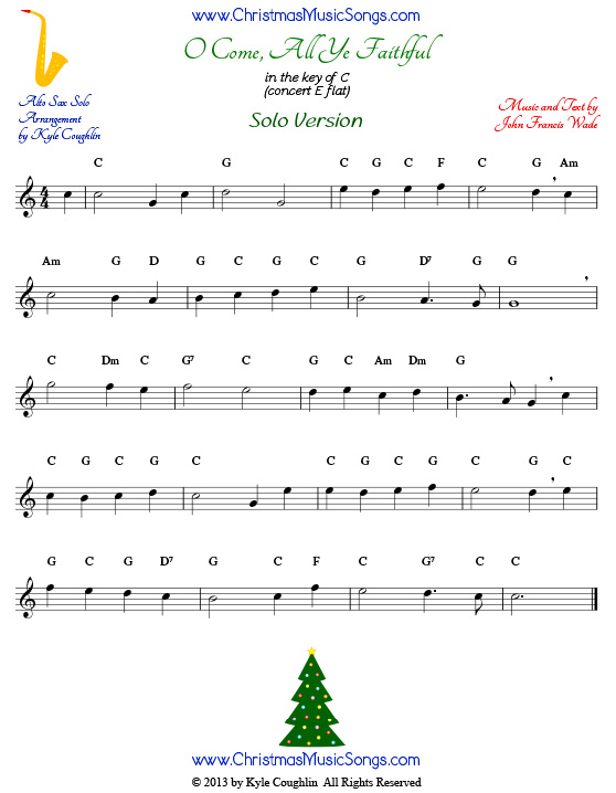 christmas songs piano sheet music with letters