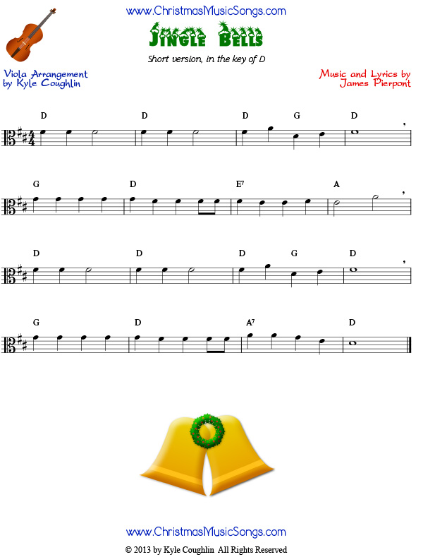 Visit the Jingle Bells page for the full version of the carol for ...