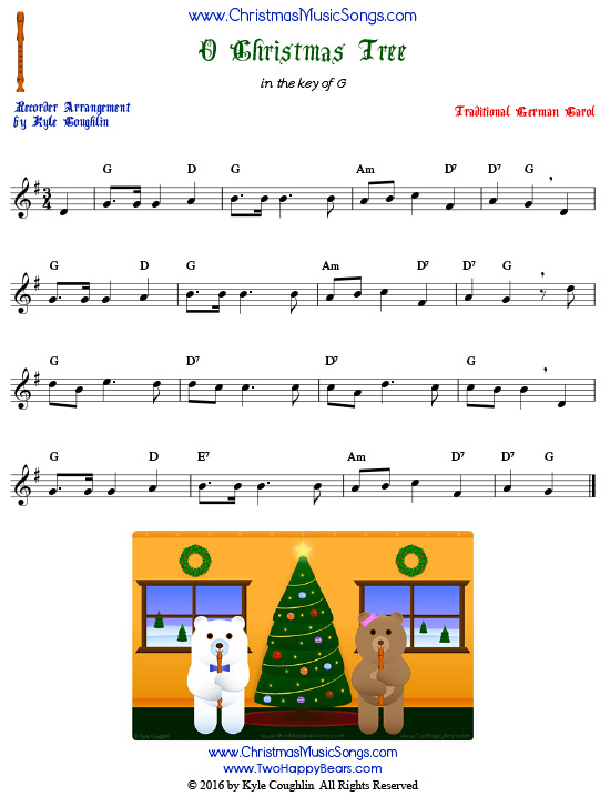 graphic about Printable Christmas Songs named Totally free Recorder Xmas Tunes within just Printable PDFs
