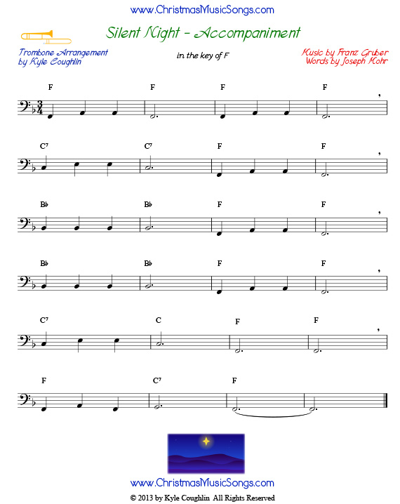 Free sheet music free christmas sheet music for trumpet and trombone