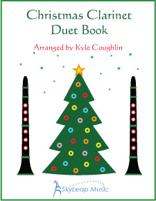 The Christmas Clarinet Duet Book, arranged by Kyle Coughlin