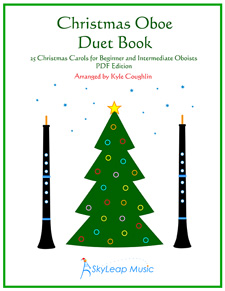 The Christmas Oboe Duet Book, arranged by Kyle Coughlin